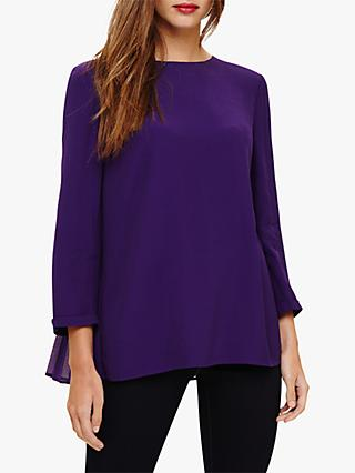 Phase Eight Pia Blouse, Purple