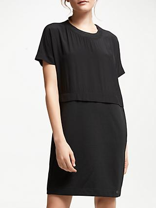 Numph Elisheva Jersey Dress, Caviar