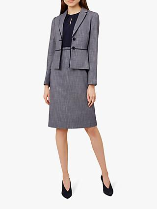 Hobbs Brooke Jacket, Navy/Ivory