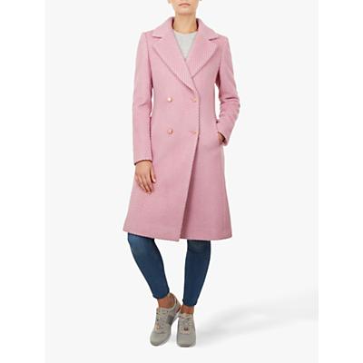 Image of Ted Baker Midi Coat, Light Pink