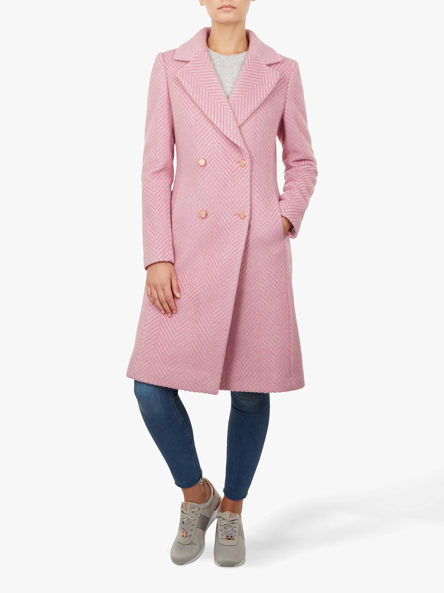 Ted Baker Midi Coat, Light Pink at John