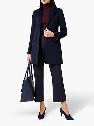 Hobbs Tia Coat, Navy