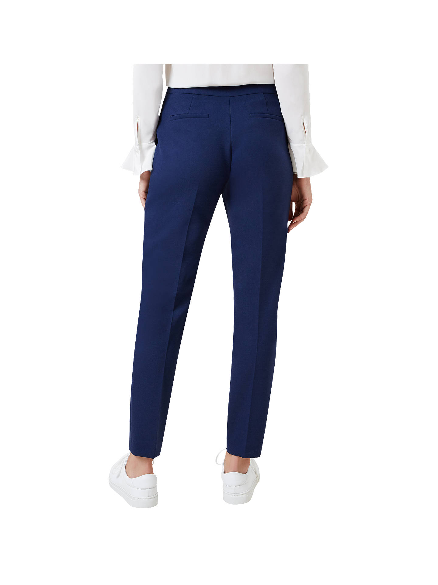 BuyHobbs Tailored Odella Trousers, French Navy, 12 Online at johnlewis.com