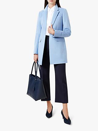 Hobbs Tia Coat, Pale Blue