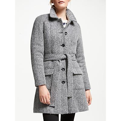 Numph Eirian Tie Waist Coat, Caviar