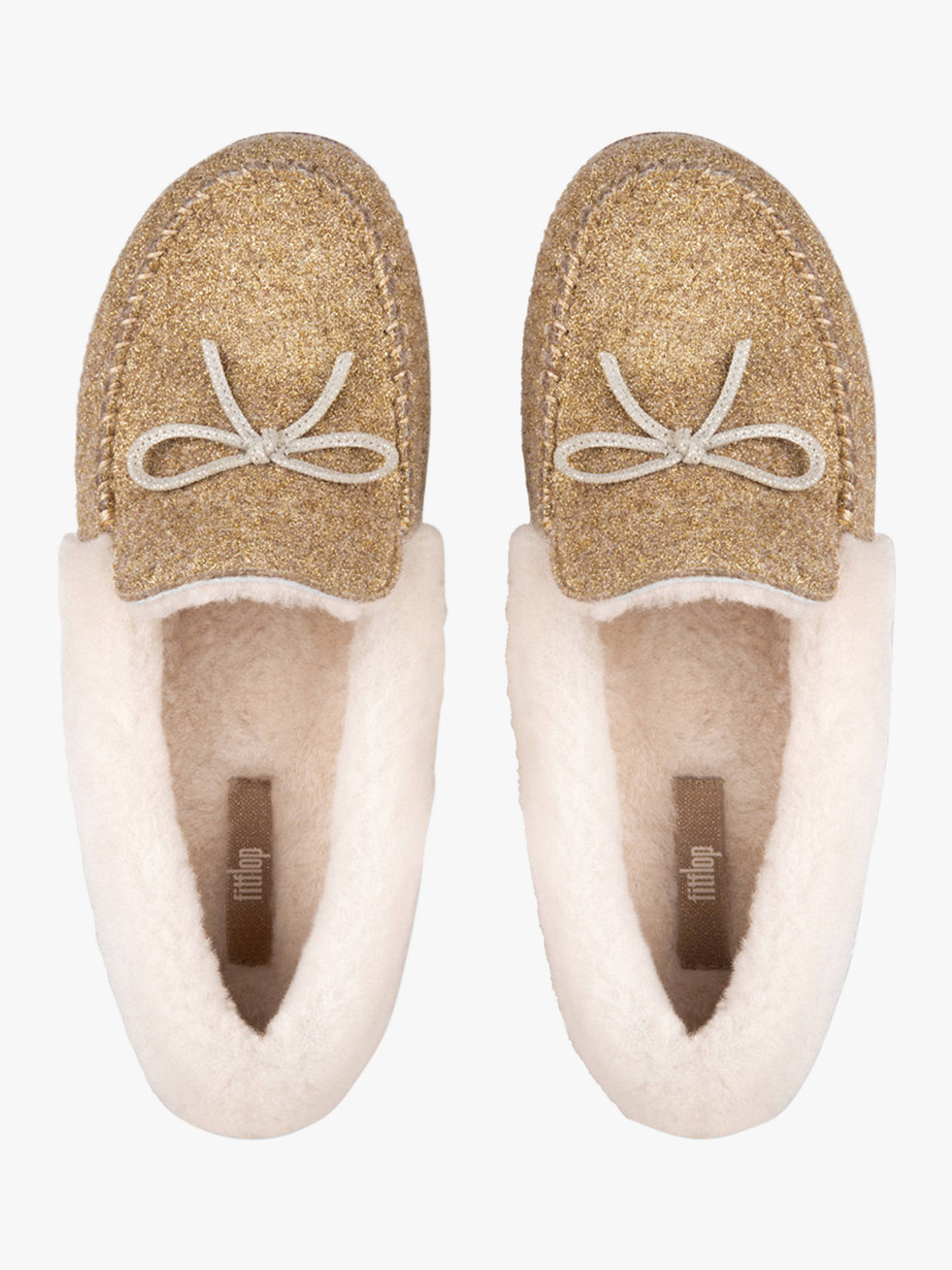 44609fbf4126 Fitflop Clara Moccasin Slippers at John Lewis   Partners