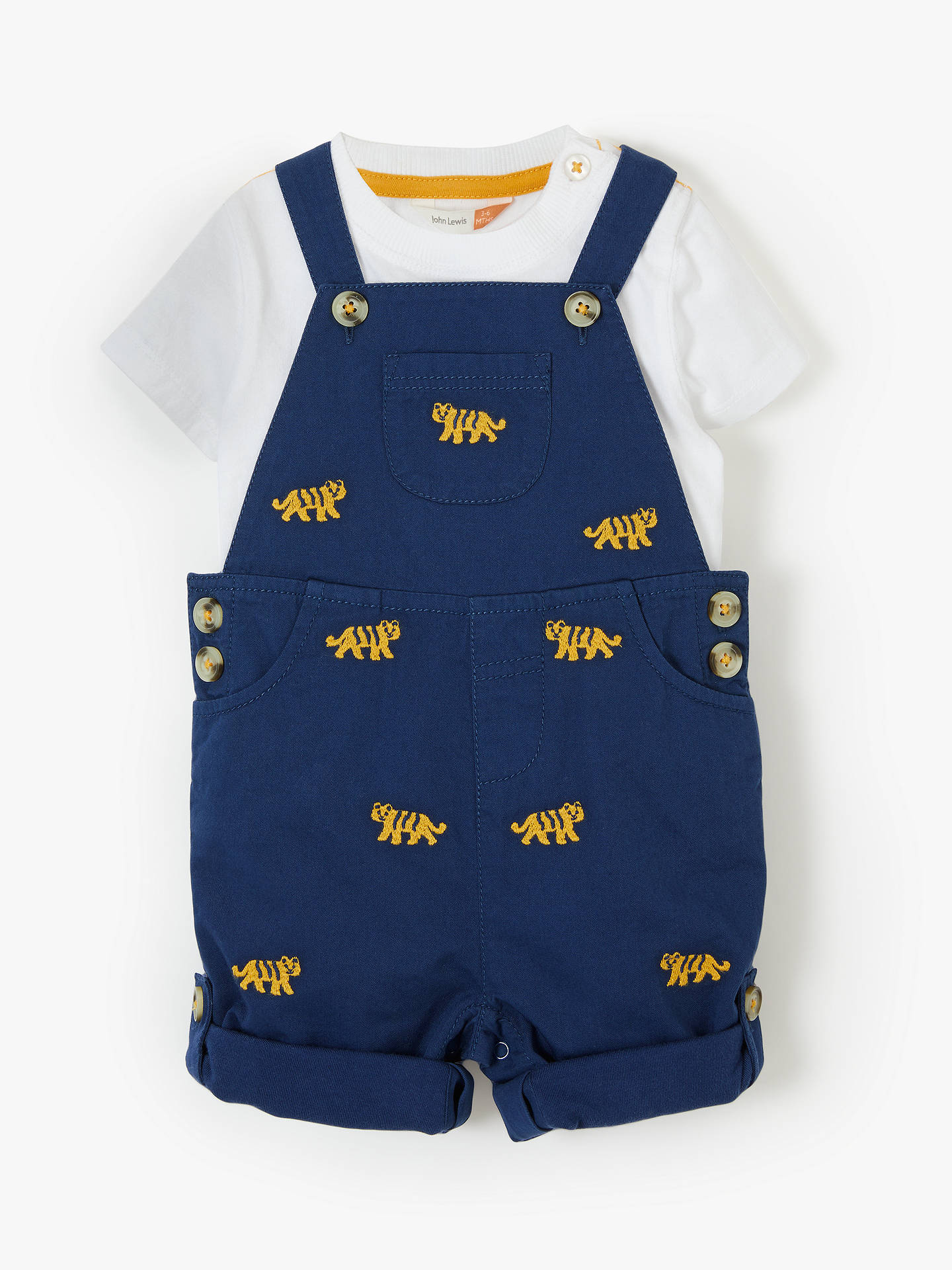 Boys' Clothing (0-24 Months) Ted Baker Baby Boy Shorts Dungarees Set 0-3 Months Modern Design Baby