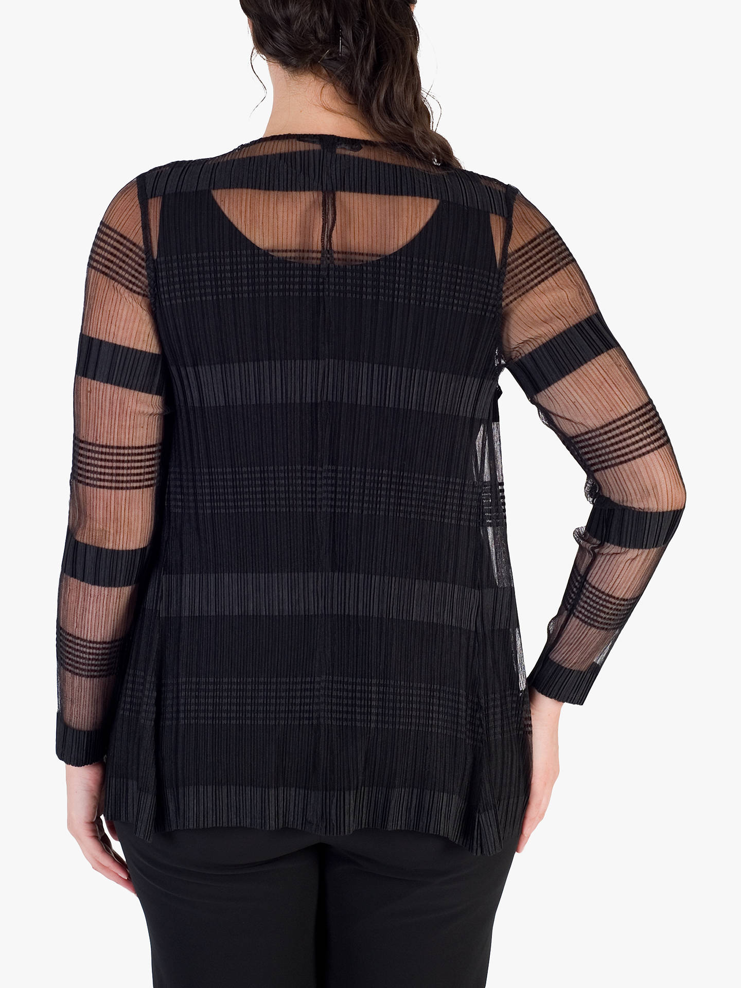 BuyChesca Sheer Shrug, Black, 12-14 Online at johnlewis.com