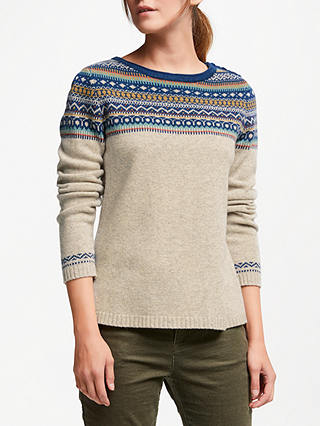 Buy Seasalt Endurance Wool Jumper, Vantage Point Ecru, 8 Online at johnlewis.com