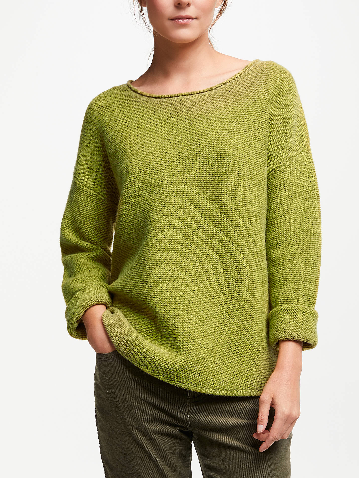Buy Seasalt Fruity Jumper, Citron, 16 Online at johnlewis.com