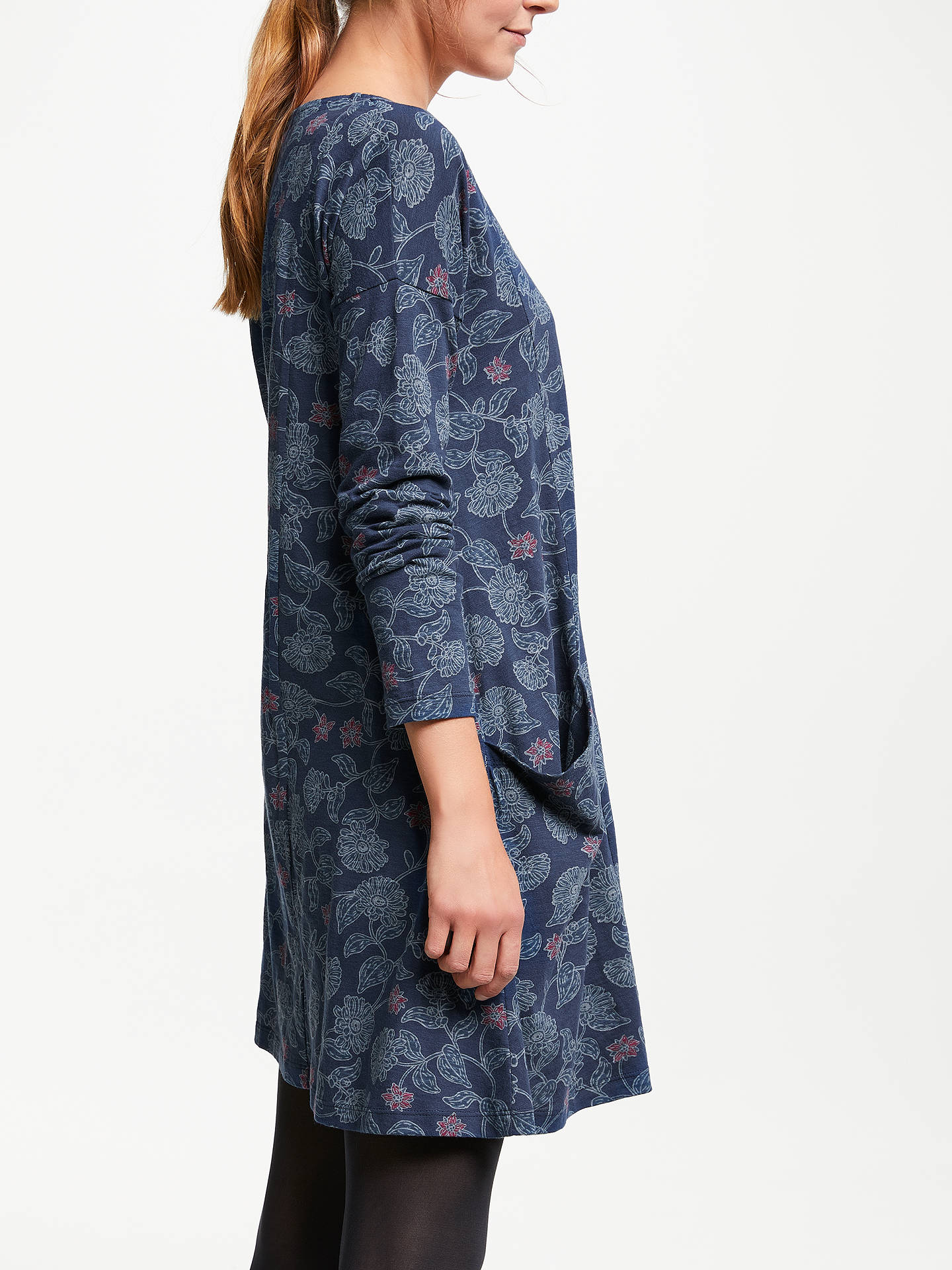 BuySeasalt Mill Pool Dress, Floral Salad Night, 18 Online at johnlewis.com