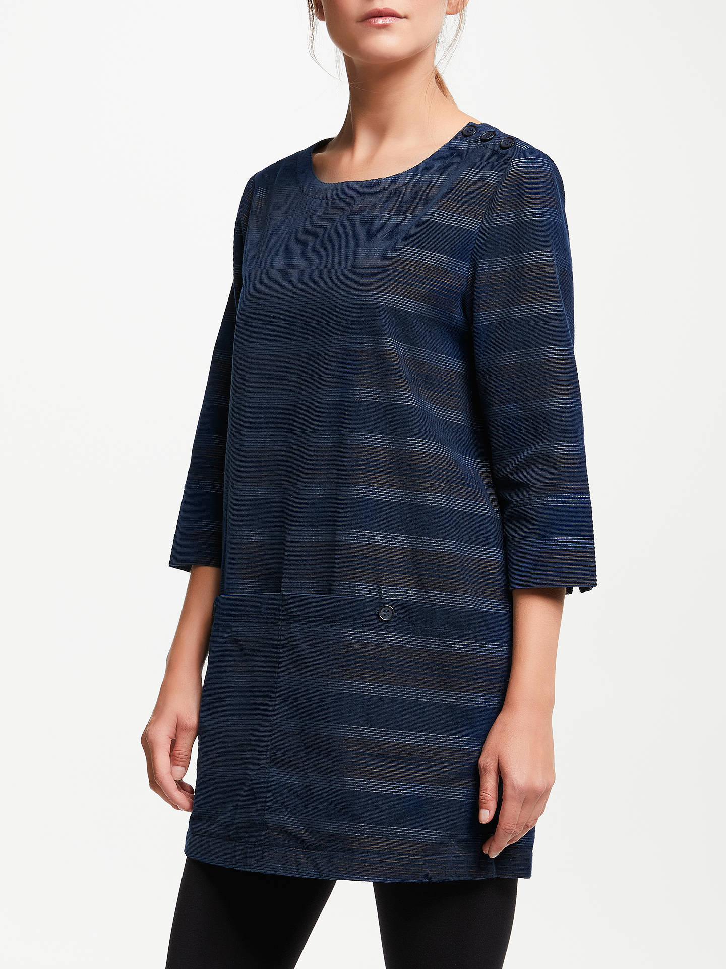 BuySeasalt Java Tunic Top, Doppio Night Dark Hay, 10 Online at johnlewis.com