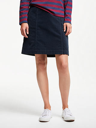 Buy Seasalt Wave Worn Skirt, Fathom, 14 Online at johnlewis.com