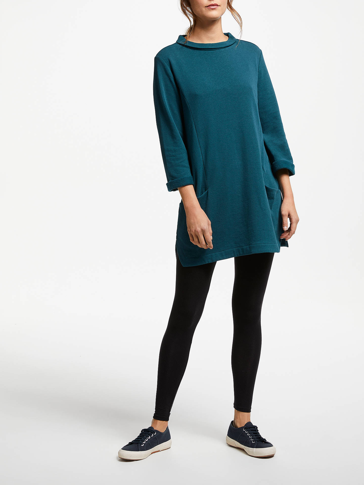 Buy Seasalt Dark Skies Tunic, Dark Lake, 16 Online at johnlewis.com