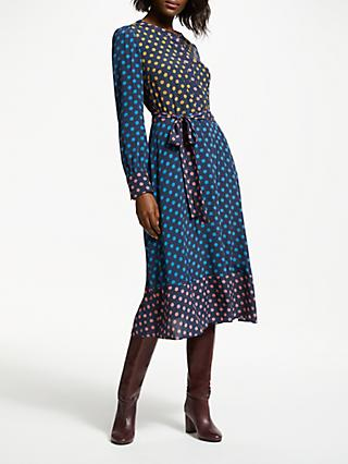 Boden Eva Dress, Drummer Blue