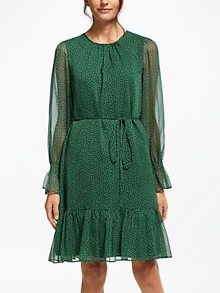 Boden Libby Dress, Amazon Green Petal