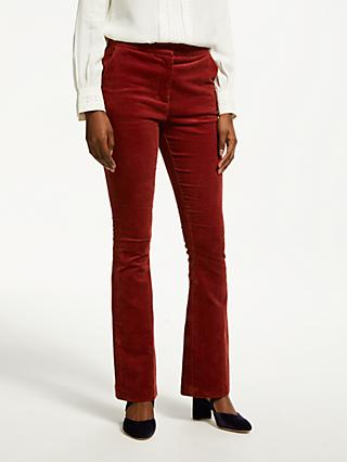 Boden Stirling Cord Skinny Trousers, Conker