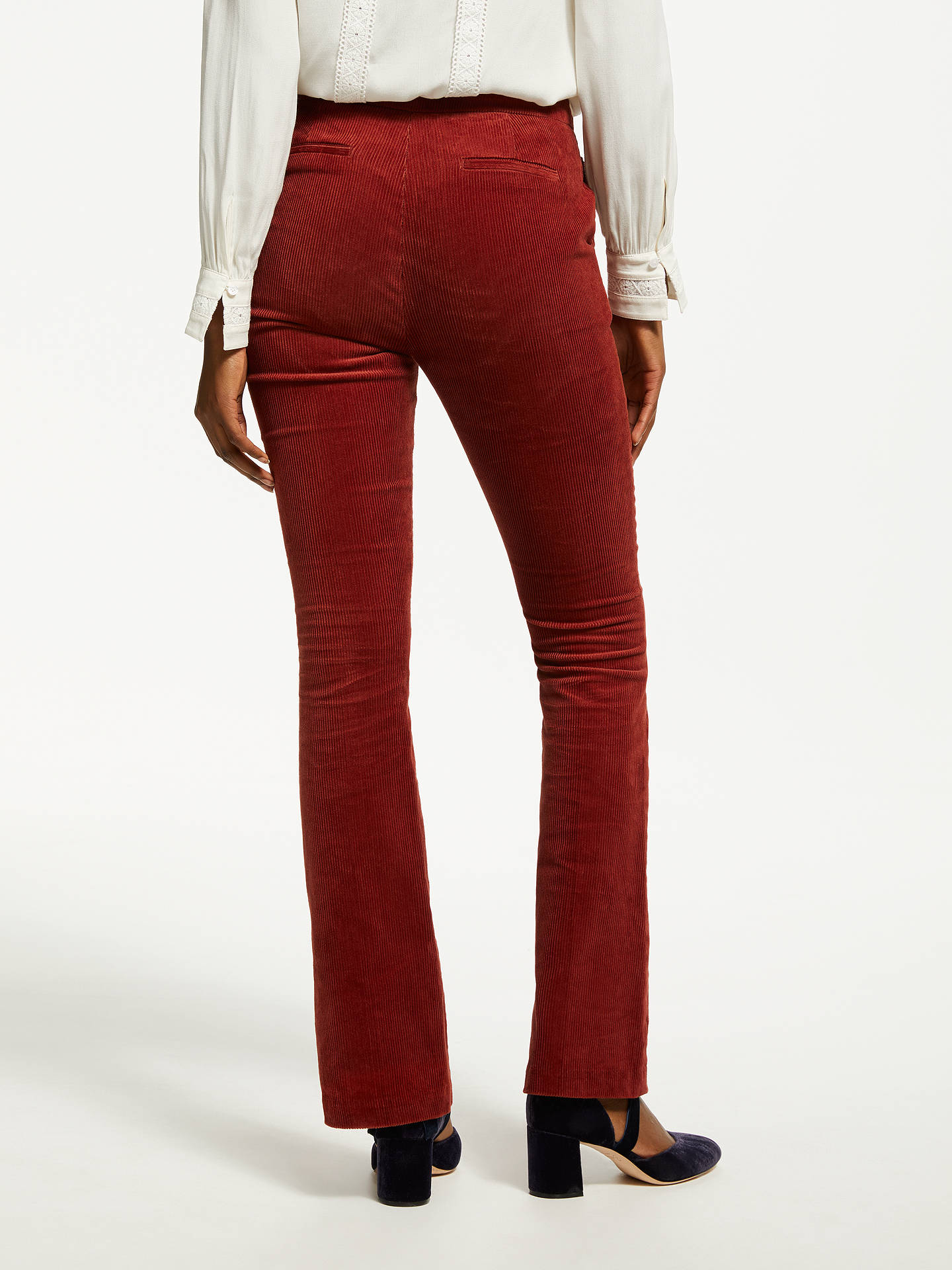 BuyBoden Stirling Cord Skinny Trousers, Conker, 8 Online at johnlewis.com