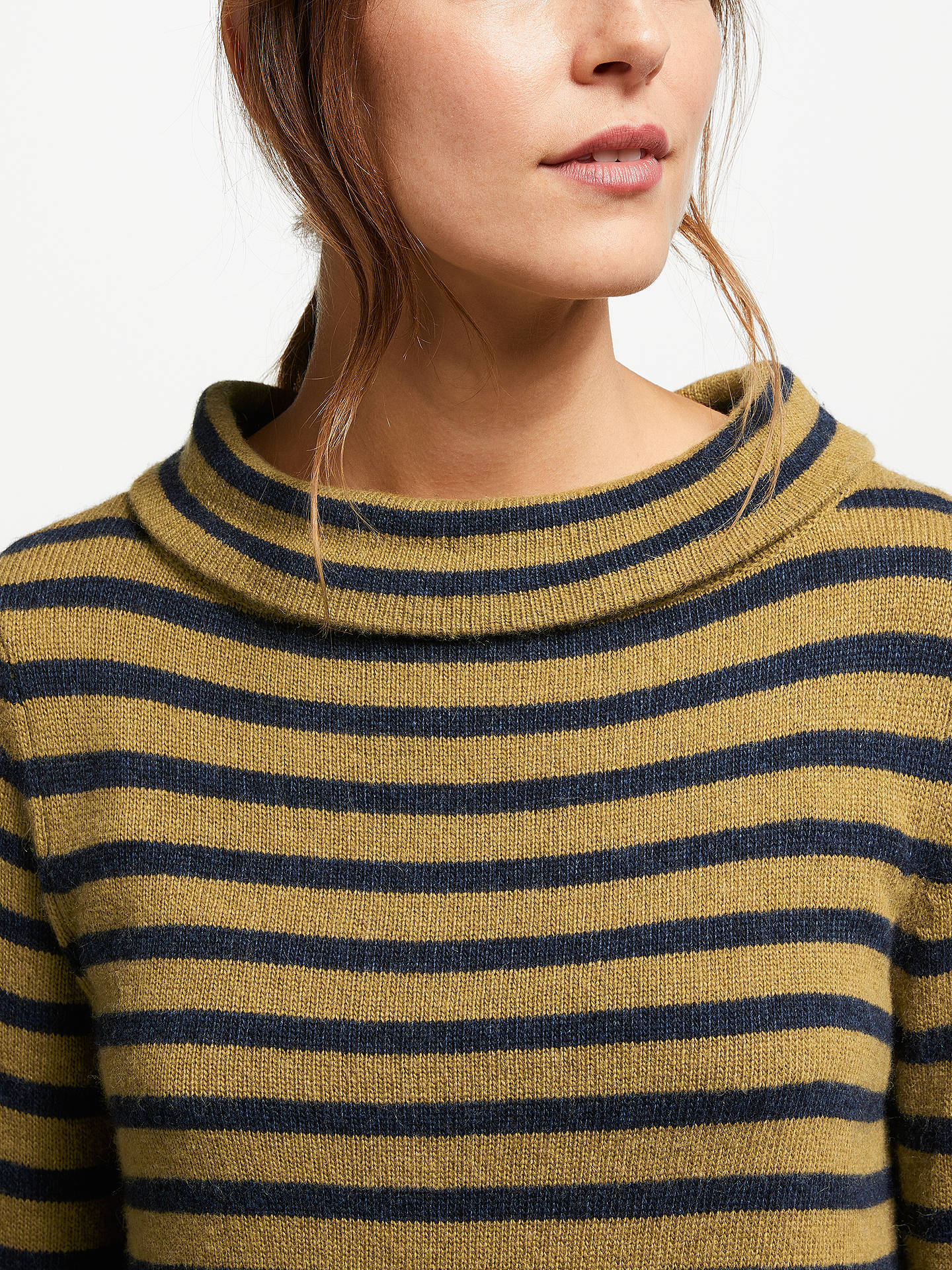 BuySeasalt Gulf Stripe Jumper, Reef Night Oak, 16 Online at johnlewis.com