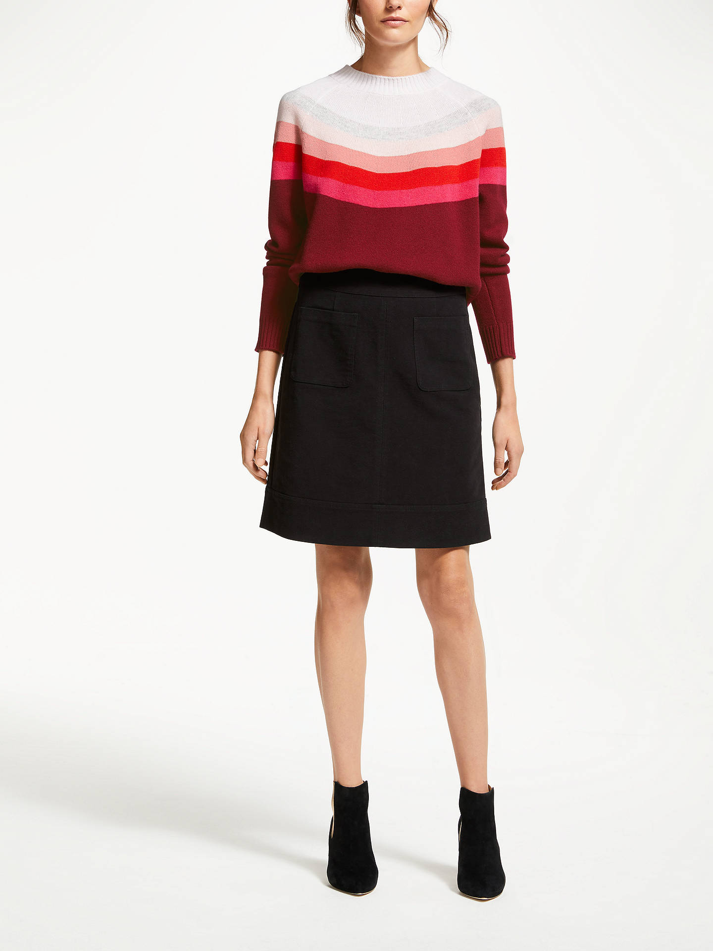 Buy Boden Helena Jumper, Mulled Wine, XL Online at johnlewis.com