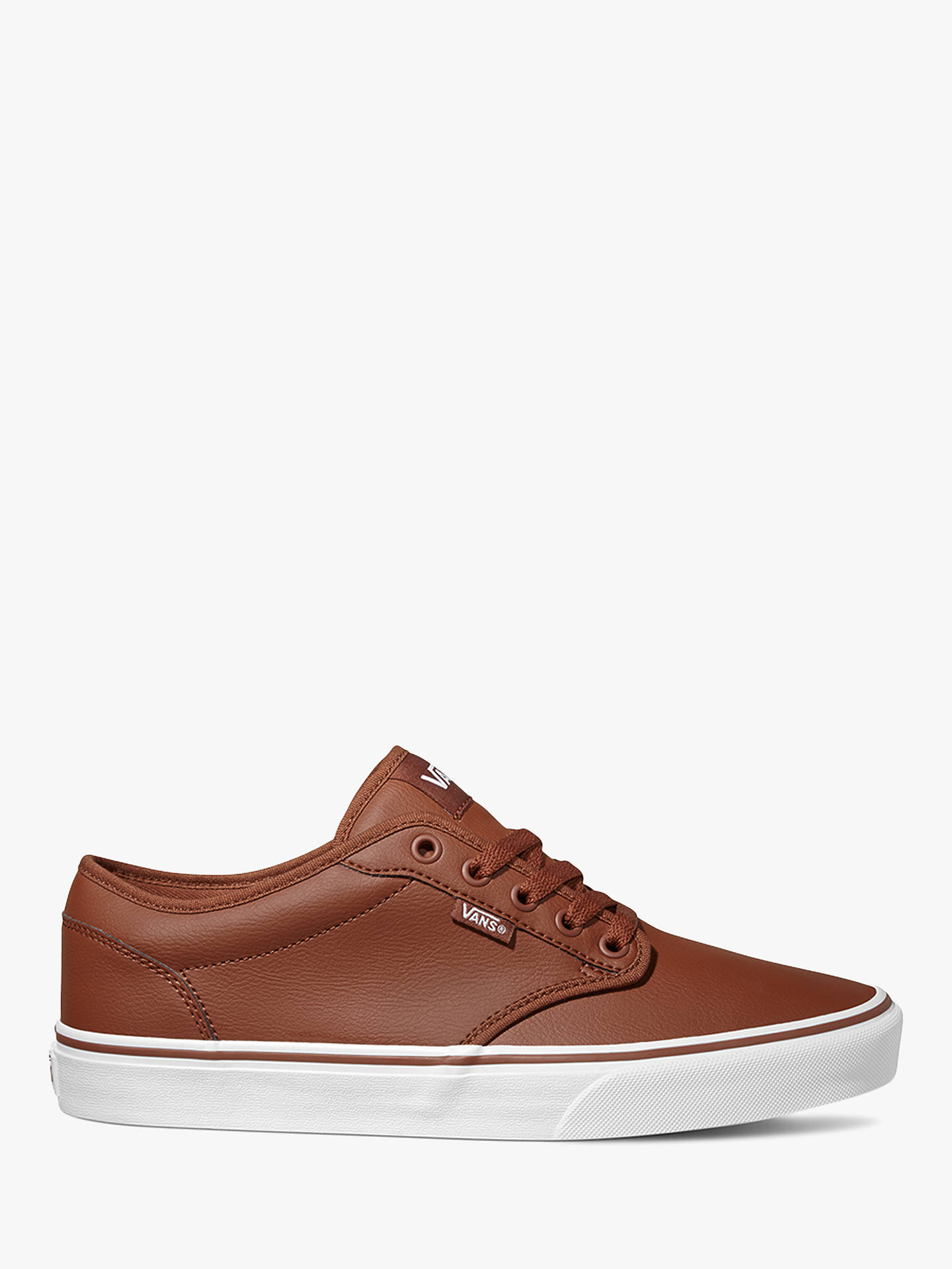 Vans Atwood Leather Trainers at John Lewis   Partners 04596ad38
