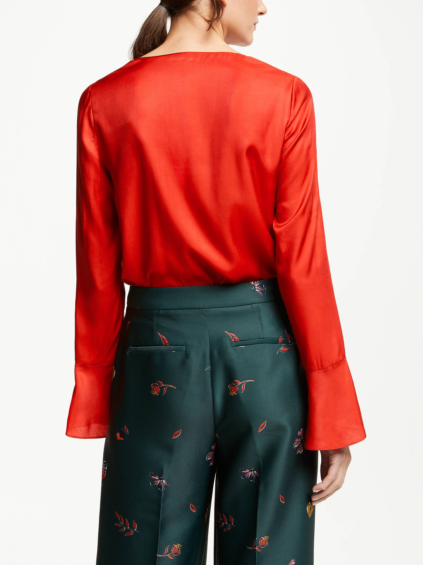 BuyBoden Lucie Top, Poinsettia, 8 Online at johnlewis.com