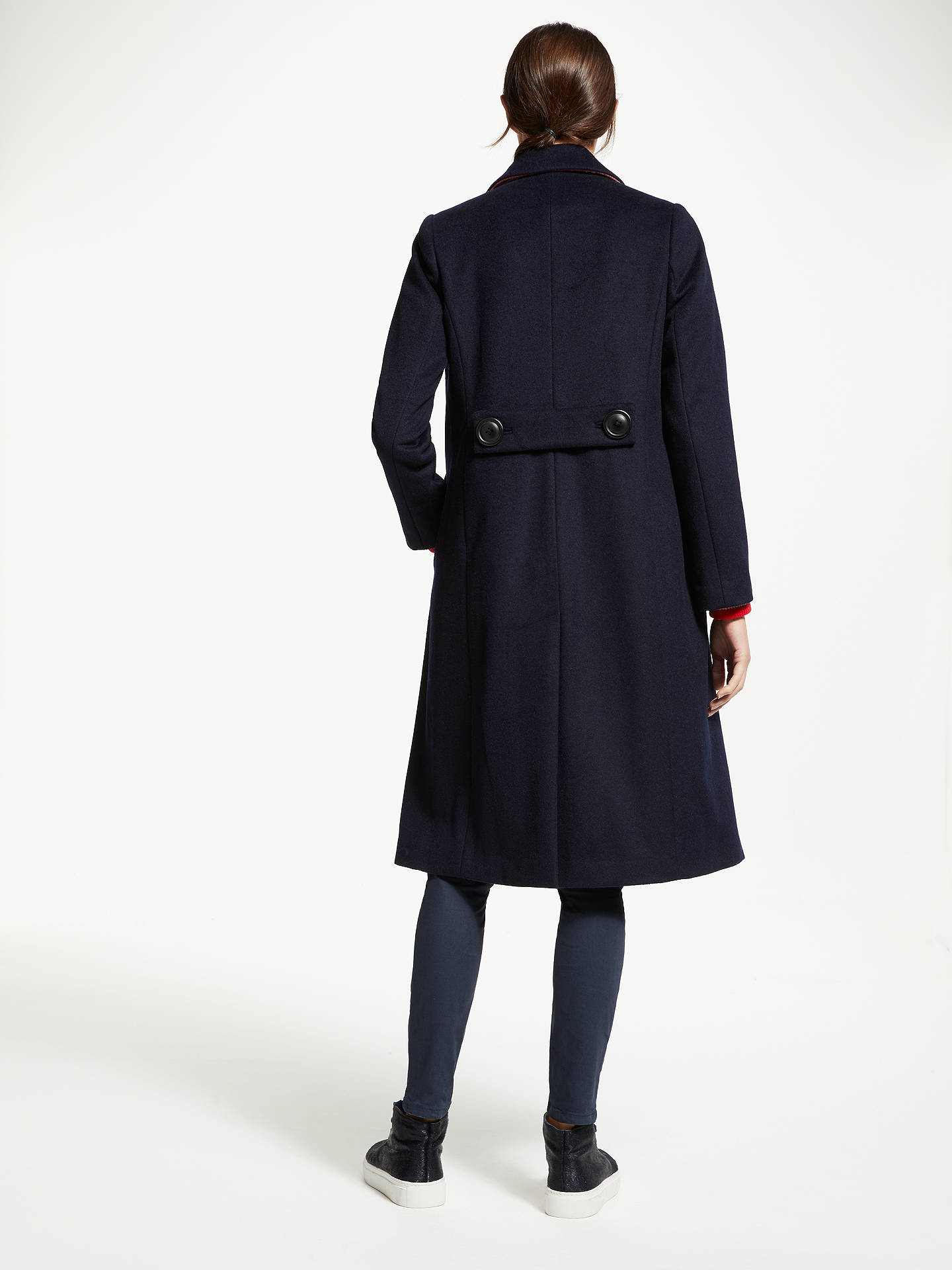 BuyBoden Conwy Coat, Navy, 8 Online at johnlewis.com