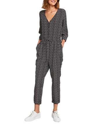 Mint Velvet Spot Jumpsuit, Multi