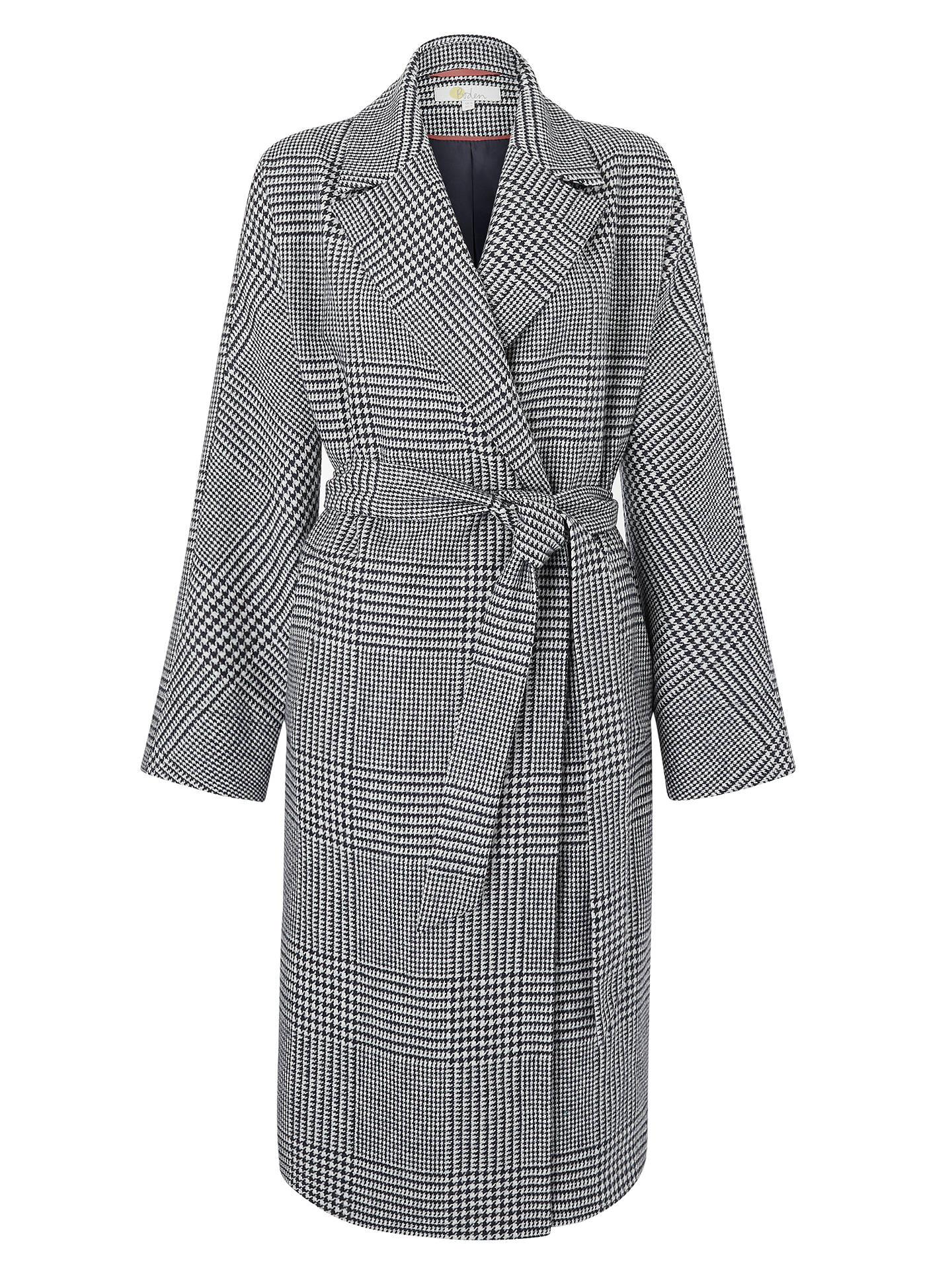 Buy Boden Lindfield Wrap Coat, Hotch Potch Check, 10 Online at johnlewis.com