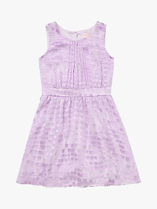 Jigsaw Girls' Texture Party Dress, Lavender