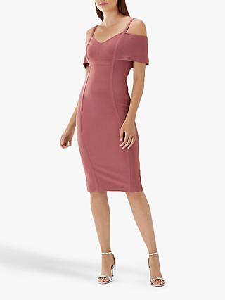 Coast Knit Shift Dress Dusky Pink