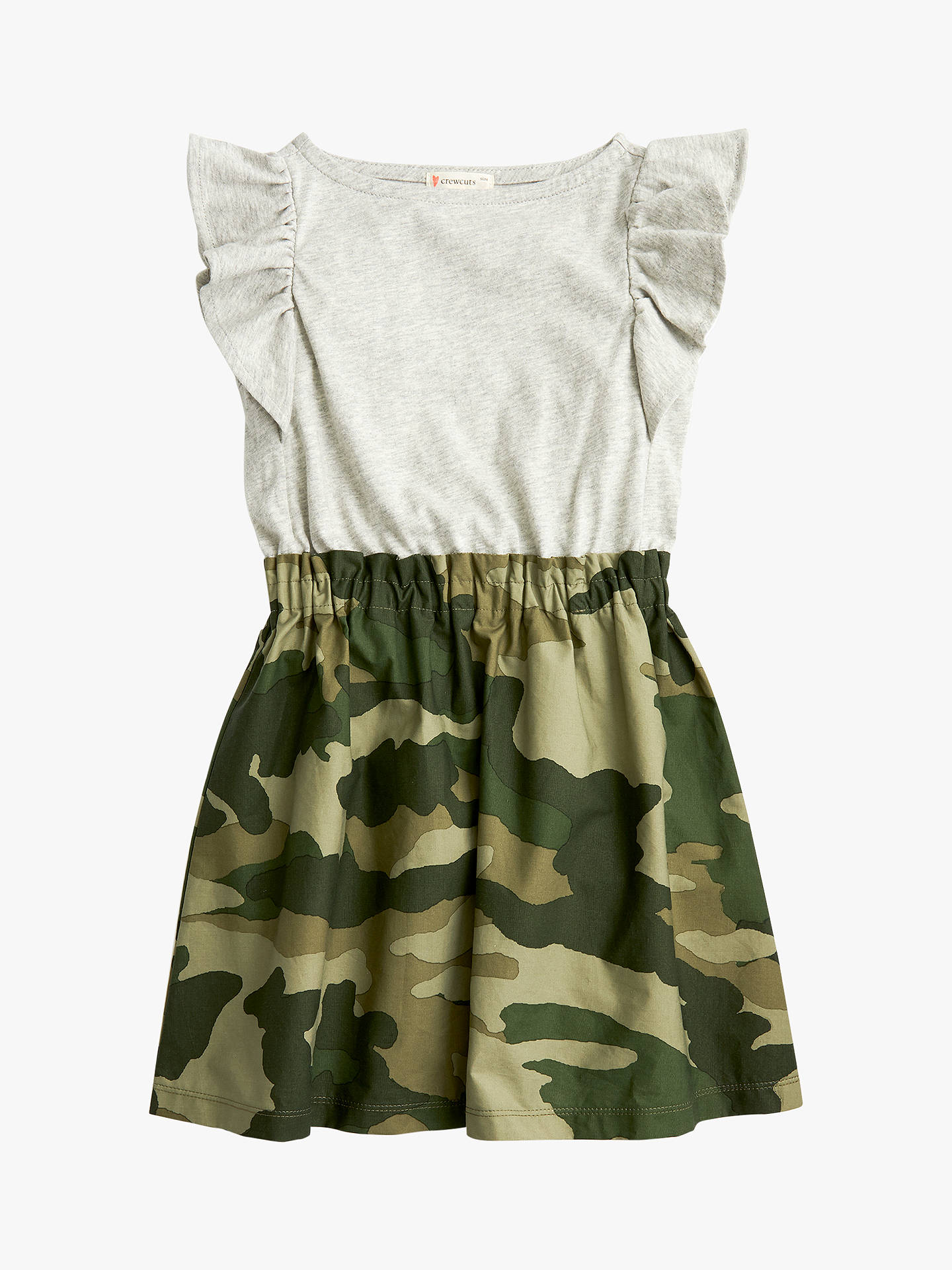 88a6cf8ca39 Buy crewcuts by J.Crew Girls  Mixed Media Camouflage Dress