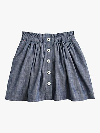 crewcuts by J.Crew Girls' Chambray Skirt, Serene Blue
