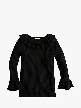 crewcuts by J.Crew Girls' Tracey Ruffle Sleeve Top