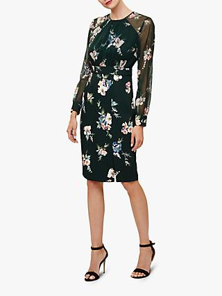 Phase Eight Abrianna Print Dress, Forest