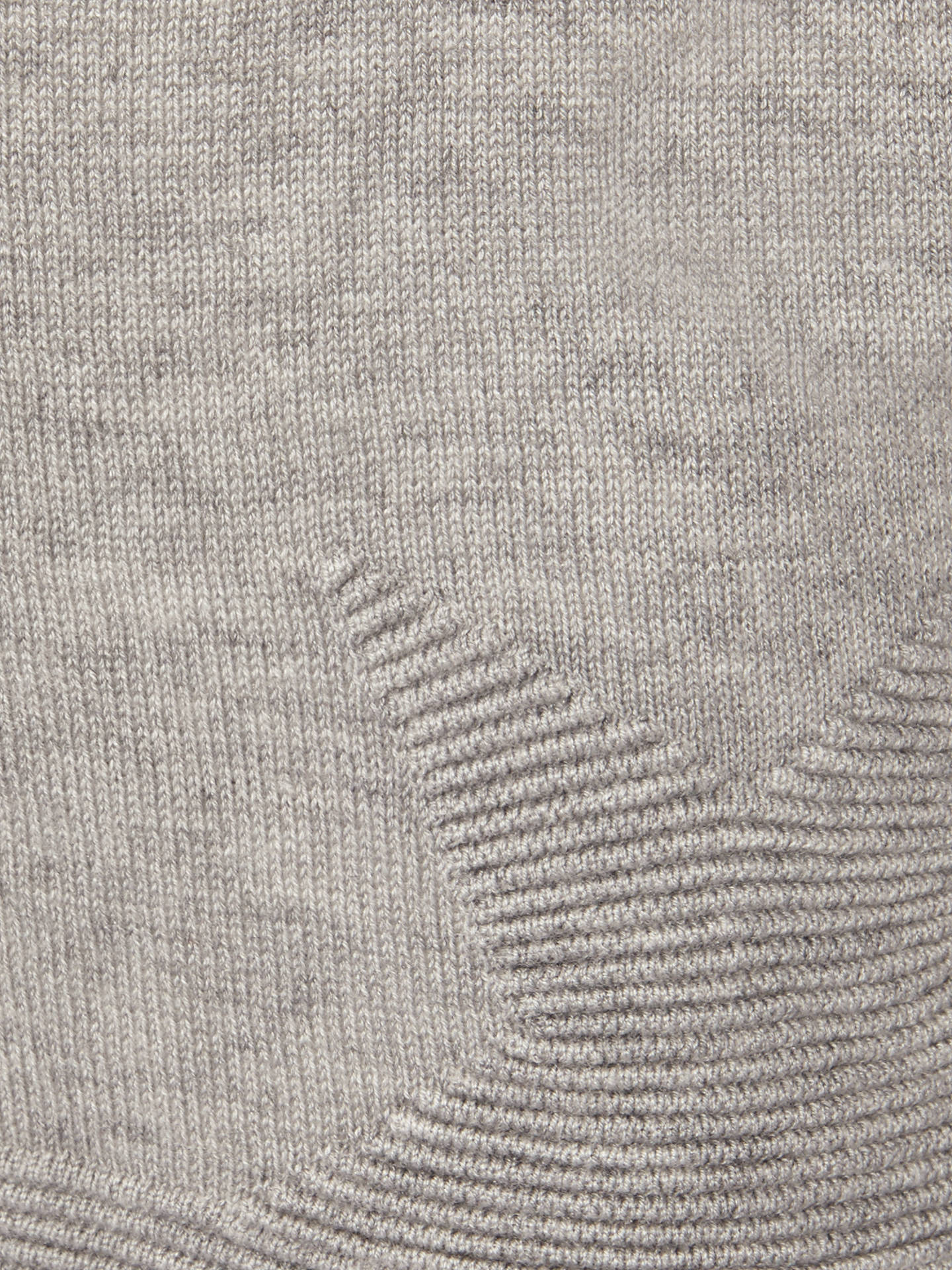 Phase Eight Star Stitch Knit Jumper Grey Marl At John Lewis Partners