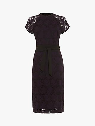 Phase Eight Henrietta Lace Dress, Deadly Nightshade