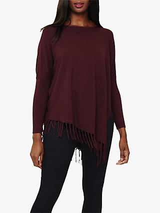Phase Eight Athena Asymmetric Tassel Jumper, Port