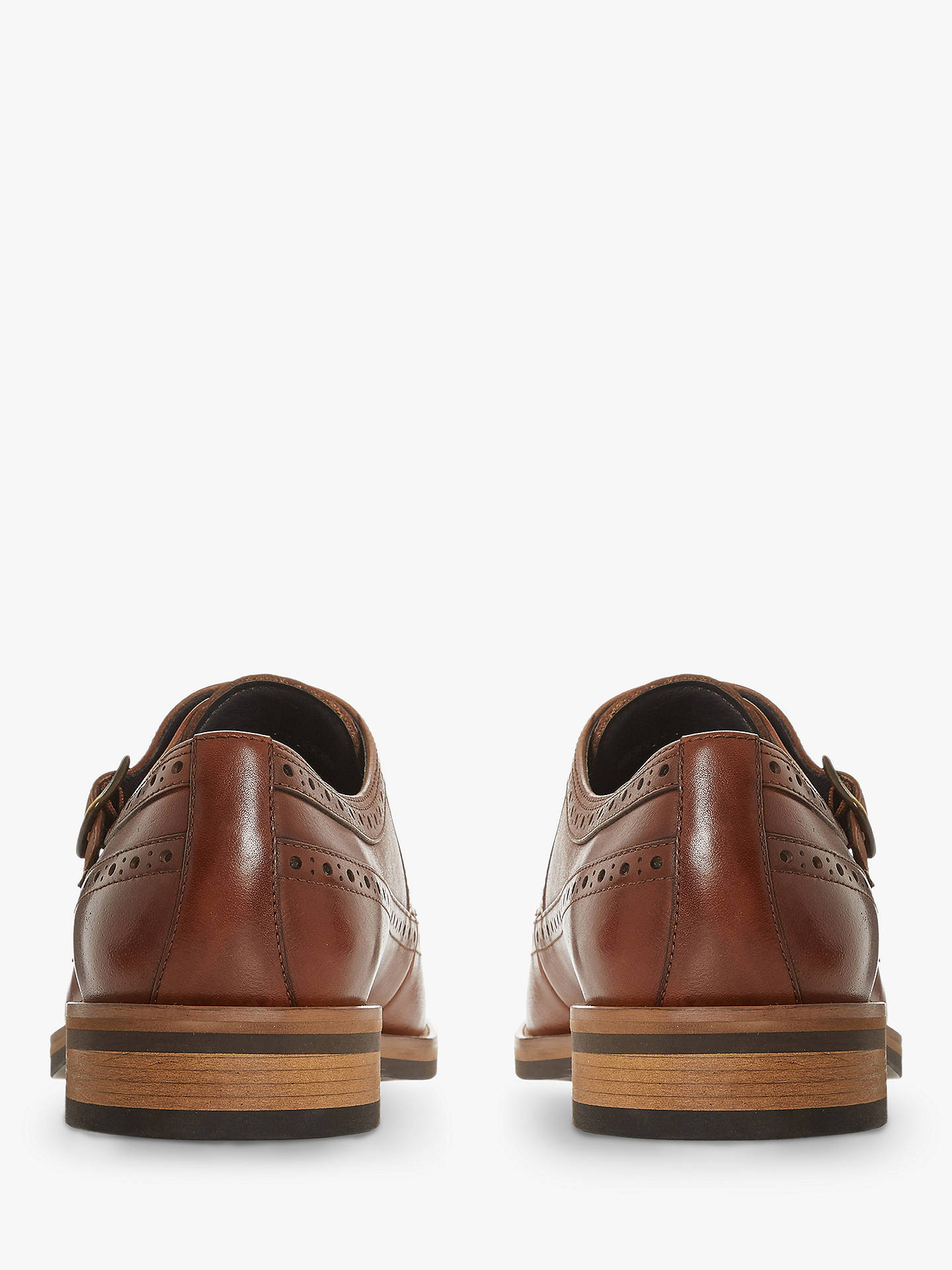 Buy Bertie Preach II Double Strap Monk Shoes, Tan, 6 Online at johnlewis.com