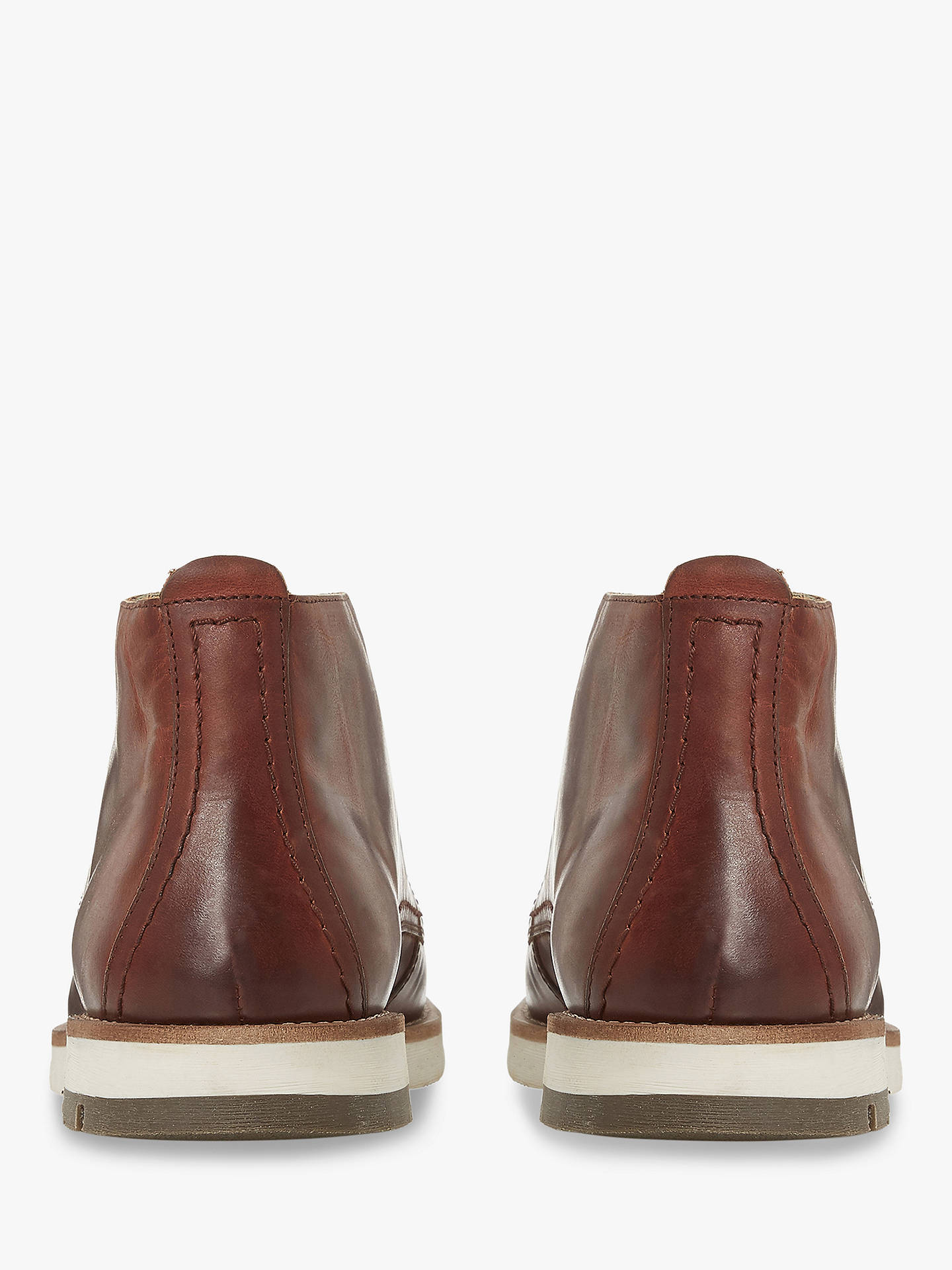 BuyBertie Cashin II Leather Boots, Tan, 6 Online at johnlewis.com