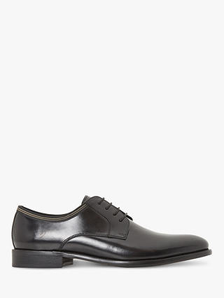 Buy Bertie Poem Derby Shoes, Black, 10 Online at johnlewis.com