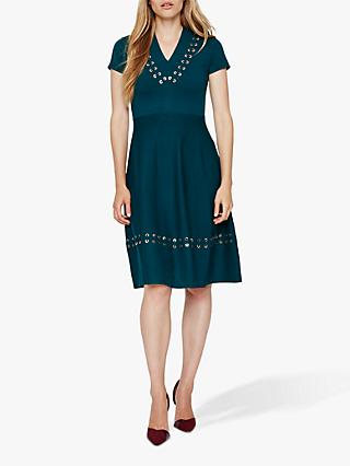 Damsel in a Dress Etta Knit Dress, Teal