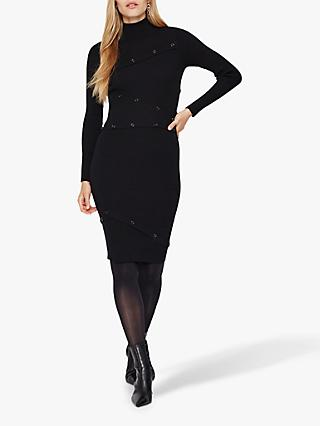 Damsel in a Dress Mara Knit Dress, Black