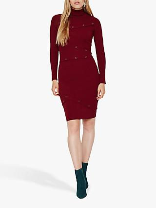 Damsel in a Dress Mara Knit Dress, Burgundy