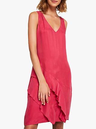 Mint Velvet Cocoon Dress, Pink
