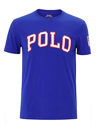 Polo Ralph Lauren Short Sleeve Logo T-Shirt, Blue