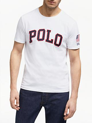 Polo Ralph Lauren Short Sleeve Logo T-Shirt, White