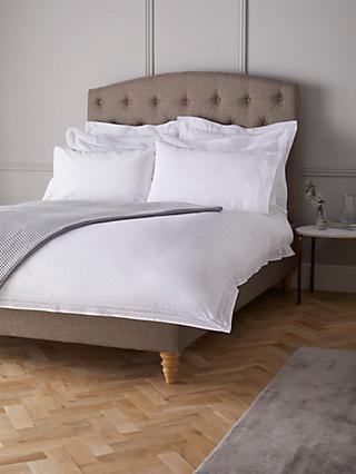 John Lewis & Partners Crisp and Fresh Romina Embroidered Cotton Bedding