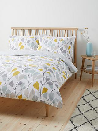 John Lewis & Partners Ines Duvet Cover Set, Citrine