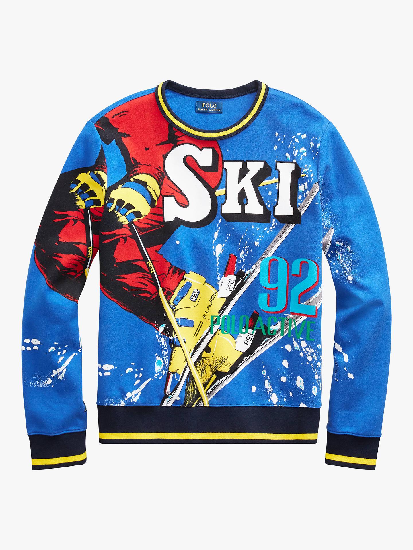 55a1f3d4990c Buy Polo Ralph Lauren Graphic Crew Neck Sweatshirt